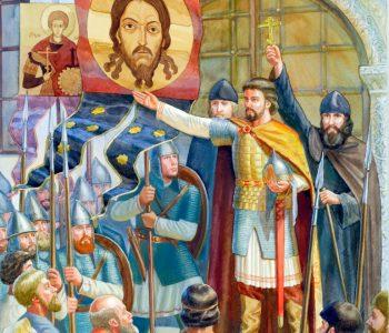 Образы русской воинской славы в иконографии